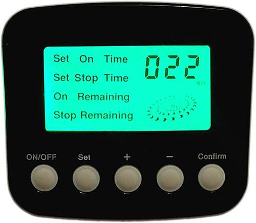 Ozonator z programatorem czasu pracy N202C - panel