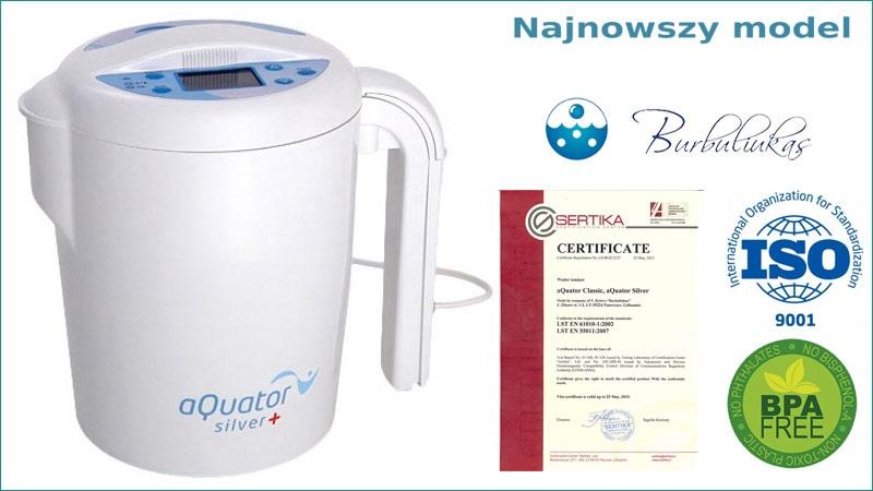 Aquator SIlver - BPA free