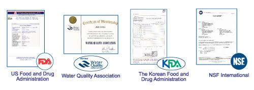 Biocera - certyfikaty