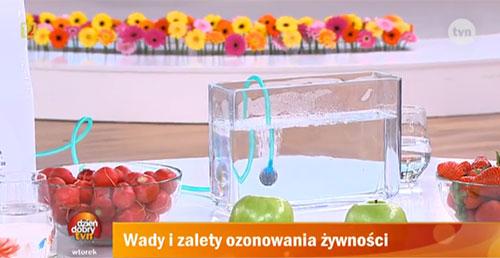 Dzień Dobry TVN o ozonowaniu
