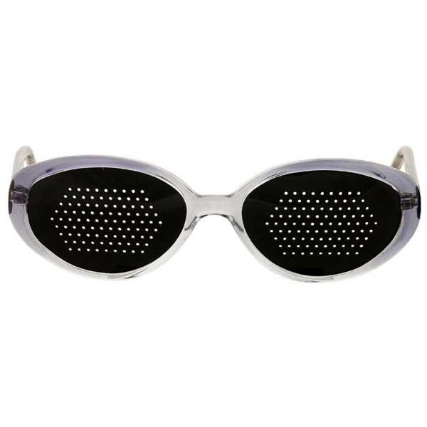 Okulary niesoczewkowe ajurwedyjskie damskie (szara oprawa)