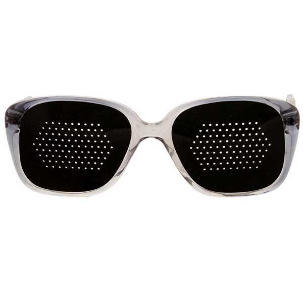 Okulary niesoczewkowe ajurwedyjskie męskie (szara oprawa)