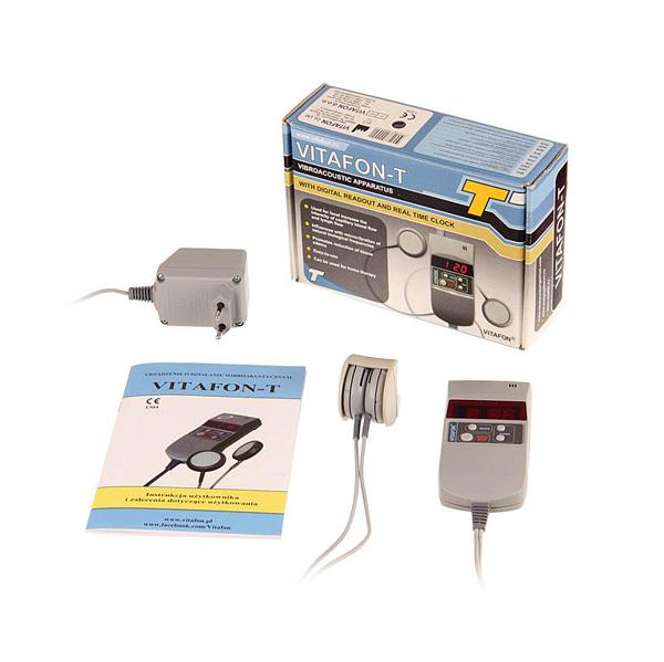 Urządzenie do wibroakustyki Vitafon-T + mankiety i torba