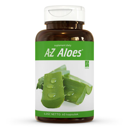 A-Z Aloes suplement diety (60 kaps.)