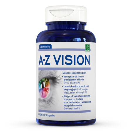 A-Z Vision suplement diety (90 kaps.)