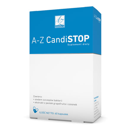 A-Z CandiSTOP suplement diety (60 kaps.)