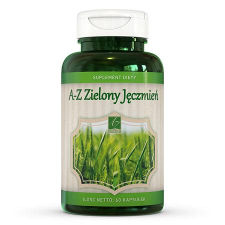 A-Z Zielony Jęczmień suplement diety (60 kaps.)