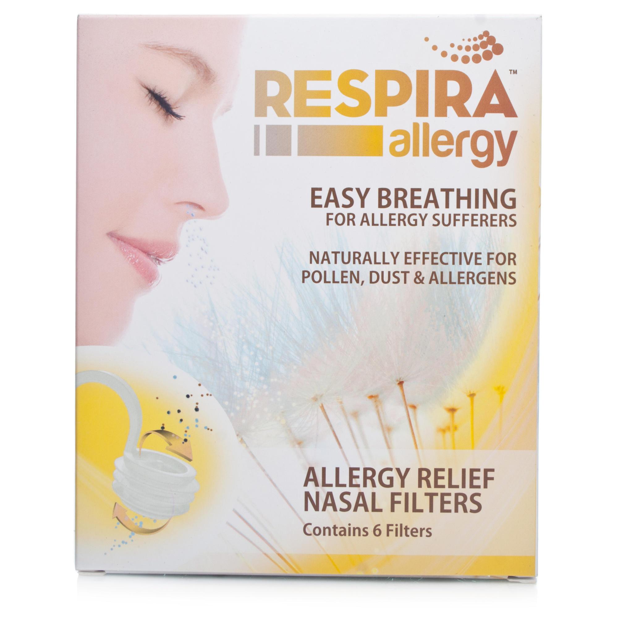 Filtr łagodzący dla alergików Respira Allergy