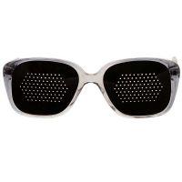 Okulary niesoczewkowe męskie (szara oprawa)