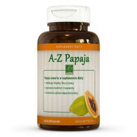 A-Z Papaja suplement diety (60 kaps.)