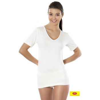 Bambusowa koszulka damska krótki rękaw Bamboo 100% PT 0802