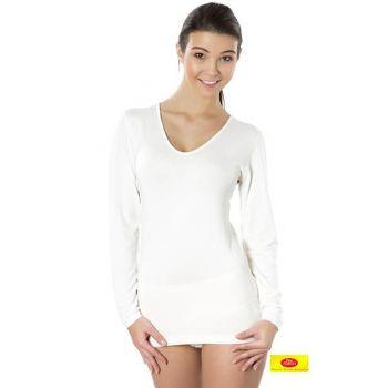 Bambusowa koszulka damska długi rękaw Bamboo 100% PT 0803