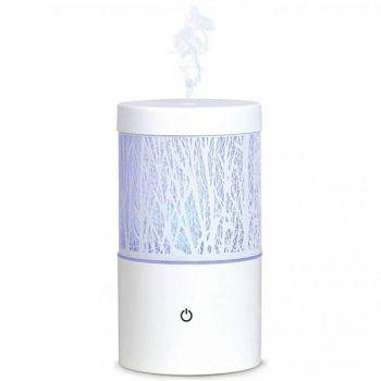 Nawilżacz powietrza z funkcją aromaterapii i lampki nocnej