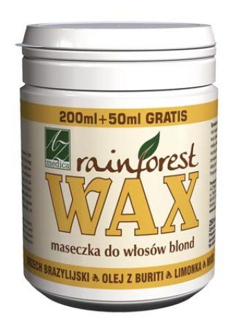 Rainforest Wax - maseczka włosy blond i siwe