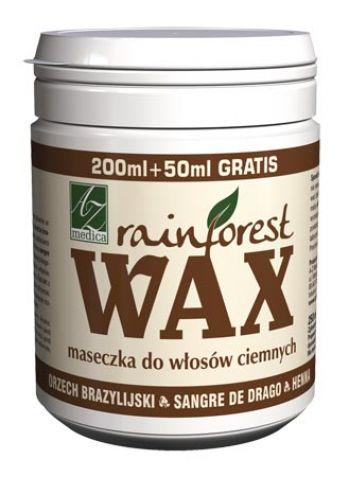 Rainforest Wax - maseczka włosy ciemne