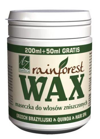Rainforest Wax - maseczka włosy zniszczone